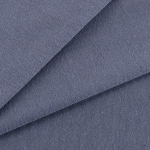 Мерный лоскут кулирка гладкокрашеная карде 9555 цвет серый 130/98х2 см
