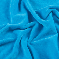 Ткань на отрез велюр 9061а Blue Panda