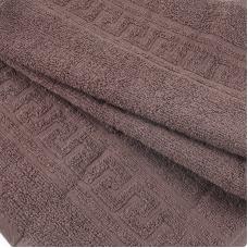 Полотенце махровое 30/50 см цвет 905 шоколадный
