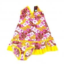 Комплект сорочка+трусы №518 (расцветки в ассортименте)