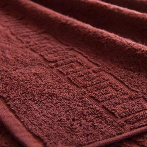 Полотенце махровое Туркменистан 40/65 см цвет горячий шоколад