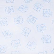Маломеры поплин 150 см 393А/3 цвет голубой 3 м