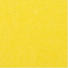Фетр листовой жесткий IDEAL 1 мм 20х30 см FLT-H1 упаковка 10 листов цвет 643 желтый