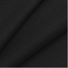 Ткань на отрез рибана с лайкрой М-2127 цвет черный