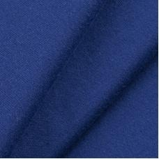 Ткань на отрез кулирка M-2087 цвет тёмно-синий