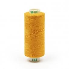 Нитки бытовые Dor Tak 40/2 366м 100% п/э, цв.183 рыжий