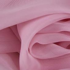Ткань на отрез Вуаль 280 см цвет 37 брусника