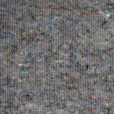 Ткань на отрез полотно холстопрошивное частопрошивное темное 80 см
