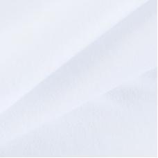 Ткань на отрез интерлок 30/1 Гребенное цвет белый 2862-18