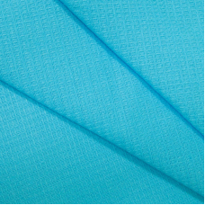 Вафельное полотно гладкокрашенное 150 см 165 гр/м2 цвет небесный