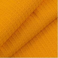 Вафельное полотно гладкокрашенное 150 см 165 гр/м2 цвет апельсин