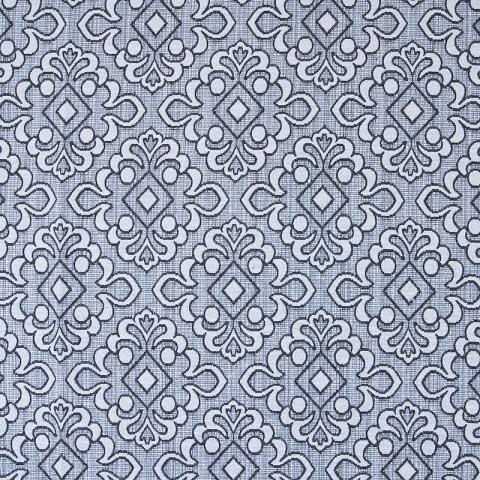 Ткань на отрез гобелен 150 см A80 цвет серый