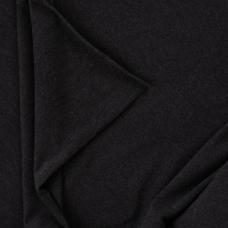 Ткань на отрез футер петля с лайкрой 07-12 цвет темно-серый меланж