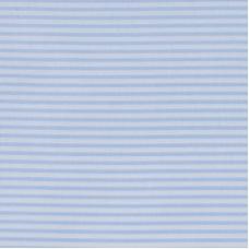 Бязь плательная 150 см 8084 Полоса цвет голубой