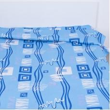 Пододеяльник бязь ГОСТ 348/1 Пикассо цвет голубой 1.5 сп