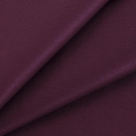 Маломеры сатин гладкокрашеный 250 см 19-1726 цвет винный 2 м
