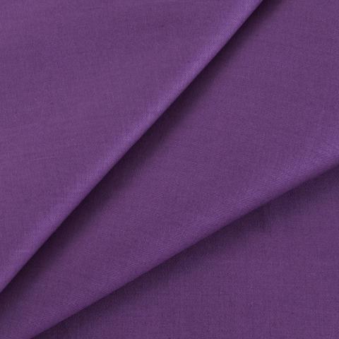 Маломеры сатин гладкокрашеный 250 см 17-1710 цвет лиловый 1 м