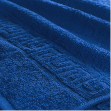 Полотенце махровое Туркменистан 40/70 см цвет Темно-синий Navy