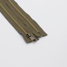 Молния металл №5СТ антик н/р 18см D565 хаки
