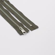 Молния металл №5СТ никель н/р 18см D034 серый
