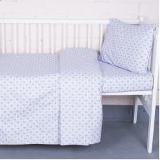 Постельное белье в детскую кроватку 92142 бязь ГОСТ