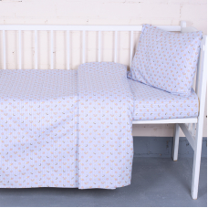 Постельное белье в детскую кроватку 92141 бязь ГОСТ