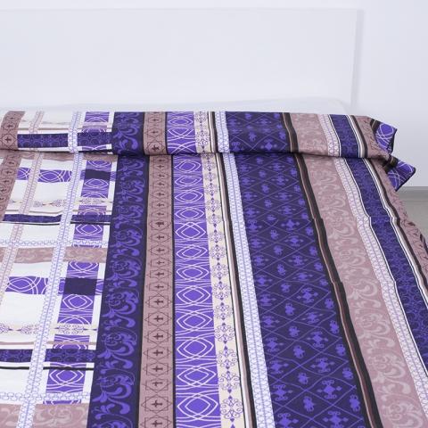 Пододеяльник бязь 301/3 Аккорд цвет фиолетовый 1.5 сп