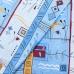 Маломеры бязь о/м 120 гр/м2 150 см 133/3 Стамбул цвет голубой 2.88 м