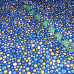 Бязь плательная 150 см 10613/2 цвет синий