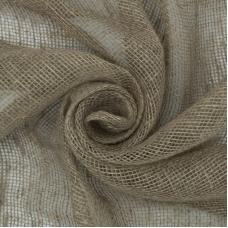 Ткань на отрез мешковина джут/лен 190 гр/м2 95 см
