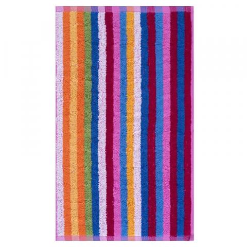 Полотенце махровое Фиеста 100/140 см цвет Ассорти