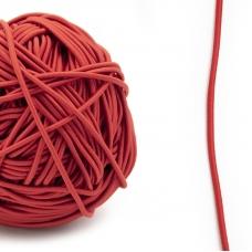 Резинка шляпная 0,25см красная 1 метр