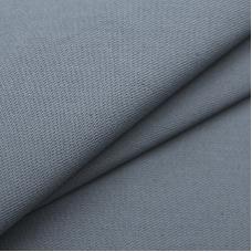 Ткань на отрез саржа цвет серый 040