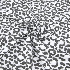 Ткань на отрез интерлок Леопард 3 Т533