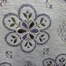 Ткань на отрез гобелен 200 см 2010-36 цвет серый
