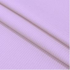 Ткань на отрез вафельное полотно гладкокрашенное 150 см 165 гр/м2 цвет фиалка
