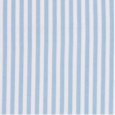 Ткань на отрез интерлок Полоса вертикаль R334 цвет голубой