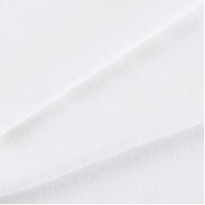 Ткань на отрез интерлок пенье цвет сахар 3420-18