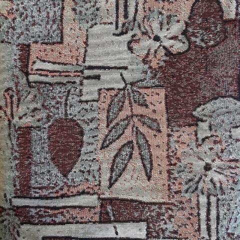 Ткань на отрез гобелен Жаккард 205,5 см С161-ЮА Аметист 41