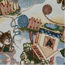 Ткань на отрез гобелен Жаккард 206 см С162-ЮА Фантазия 8