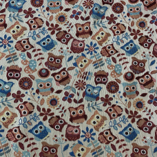 Ткань на отрез гобелен Жаккард 206 см С162-ЮА Фантазия 76