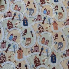 Ткань на отрез гобелен Жаккард 206 см С162-ЮА Фантазия 62