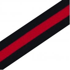 Лампасы №1 черная красная черная 2,5см уп 1 метр