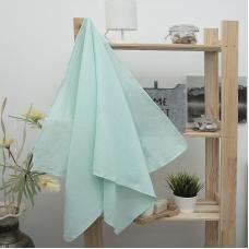 Полотенце вафельное банное 150/75 см цвет ментол