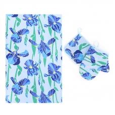Набор вафельный - полотенце/рукавичка/прихватка вид 6