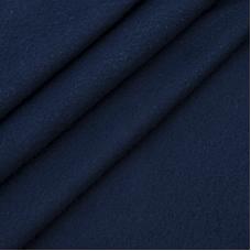 Ткань на отрез флис цвет Темно-синий