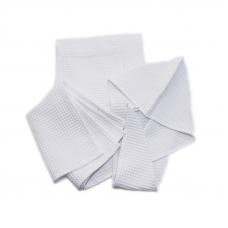 Набор для сауны вафельный женский 3 предмета  цвет белый