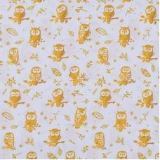 Ткань на отрез перкаль 150 см 13273-1 Little owls Компаньон