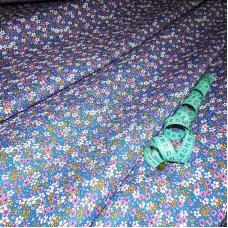 Бязь плательная 150 см 10510/1 цвет синий