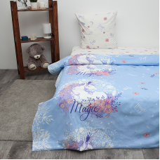 Детское постельное белье из бязи 1.5 сп 3025-1 Единорог